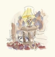 NYアルコンギンホテルのネコ